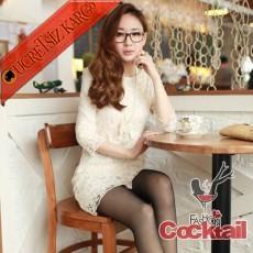 * ROMANTIC japon uzun kol dantel elbise S M L