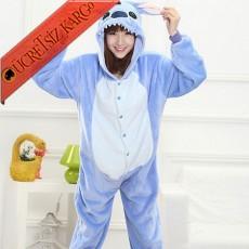 * Sevimli Kulaklı Canavar Japon Pijama S-Xl
