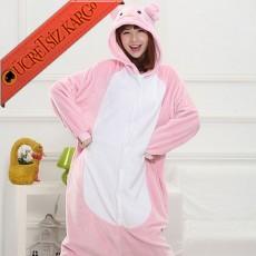 * Eğlenceli Pembe Panter Japon Pijama S-L