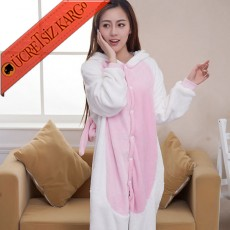 * Eğlenceli Tek Boynuzlu At Japon Pijama S-L