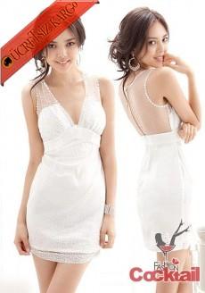 * japon TÜL & TAŞ abiye mezuniyet elbise beyaz