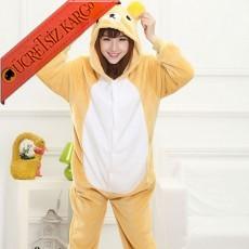 * Eğlenceli Ayıcık Japon Pijama S-Xl