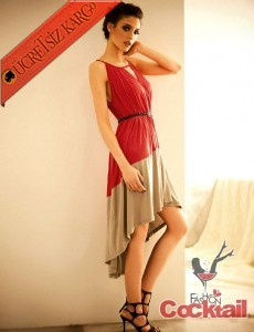 * NARİN GERDAN japon asimetrik etek elbise