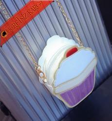 * Cup Cake Kek Kalıplı Şirin Çanta